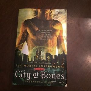 Other - City of Bones paperback Book One